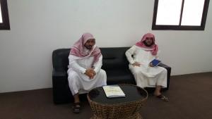 زيارة وفد مؤسسة الشيخ عبدالله الراجحي للجمعية