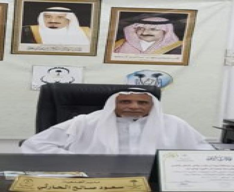 الشيخ غيثان بن دبسان في زيارة للجمعية
